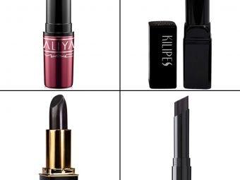 15 Best Black Lipsticks In 2021