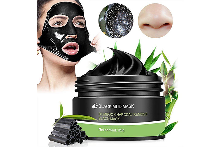 Black Mud Mask Bamboo Charcoal Remove Black Mask