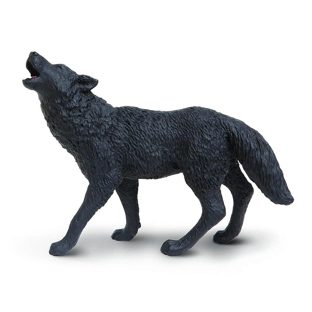 Safari Ltd Black Wolf