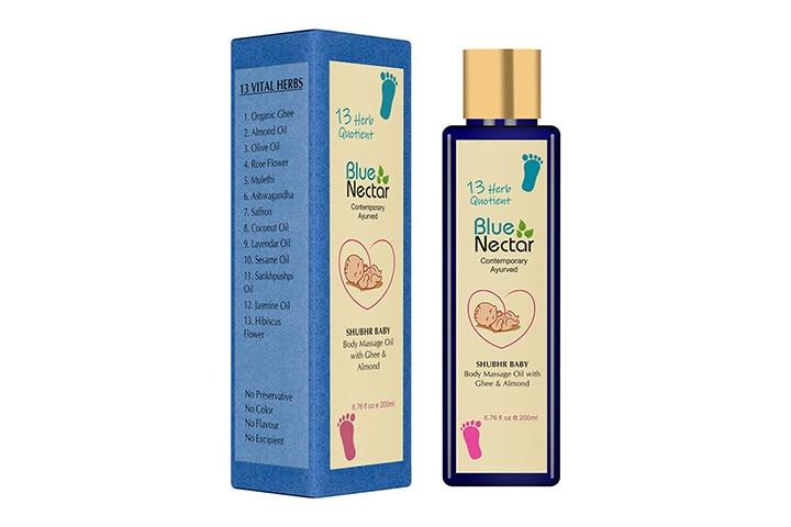 Blue Nectar Ayurvedic Baby Massage