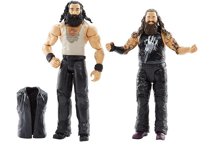 Bray Wyatt and Luke Harper action figure
