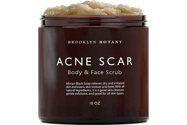 Brooklyn Botany Acne Scar Body & Face Scrub
