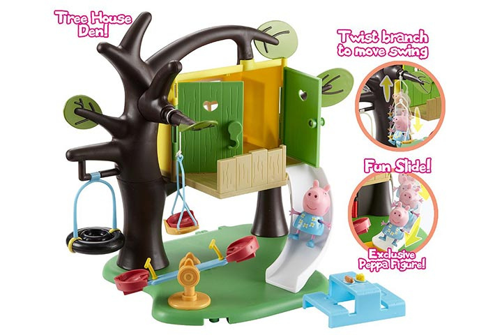 Character Options Peppa Pig Tree House Playset