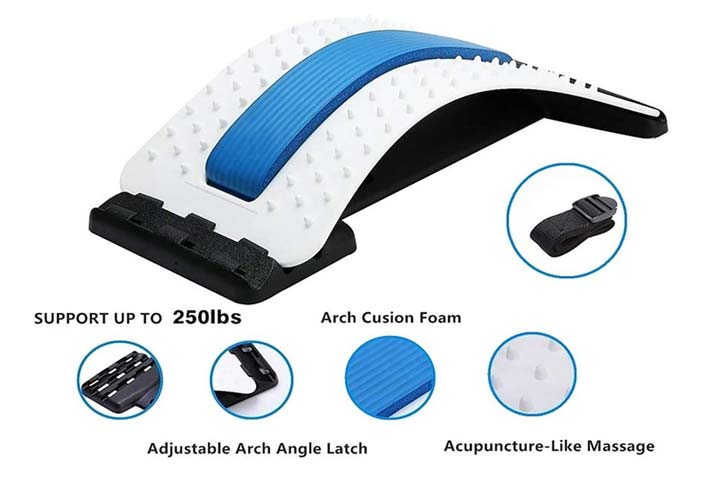 ChiFit Multi Level Back Stretching Device