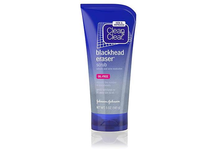 Clean & Clear Blackhead Eraser Facial Scrub