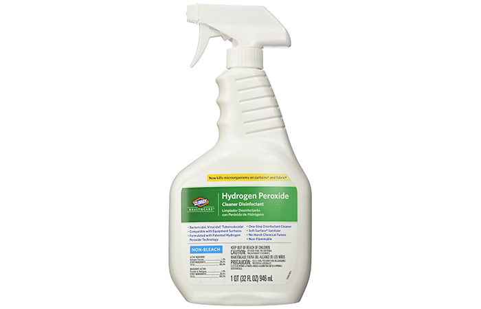 Clorox Healthcare Hydrogen Peroxide Cleaner Disinfectant Spray