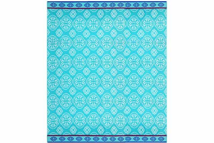 Cotton Craft - Oversized Woven Velour Beach Towel
