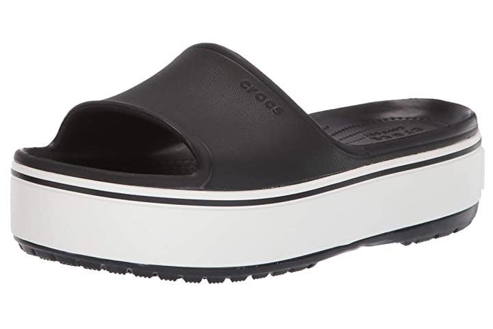 Crocs Crocband Womens Platform Slide Sandals