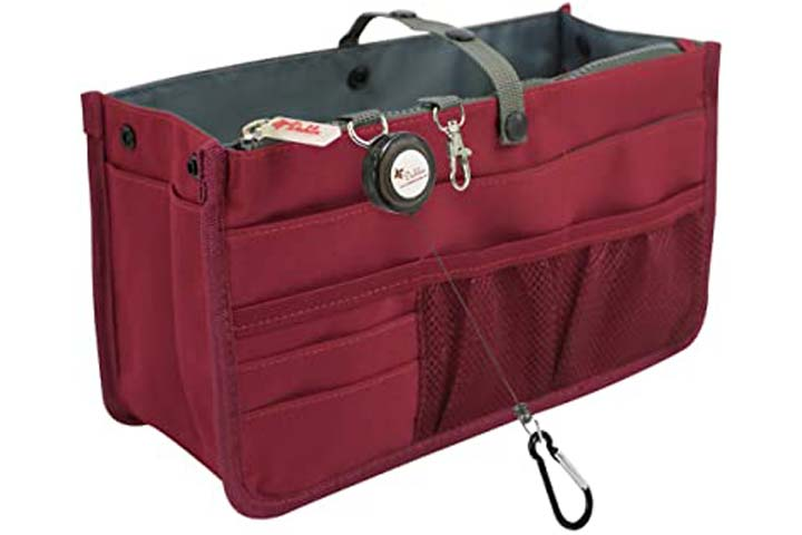 Dahlias Patented Handbag Purse Organizer