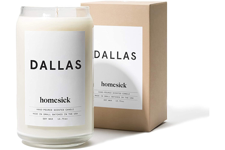 Dallas Homesick Scented Candle