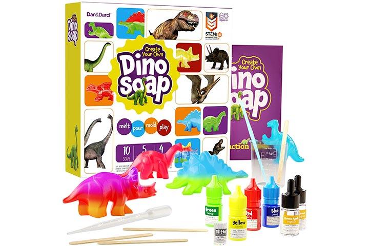 Dan&Darci Create Your Own Dino Soap