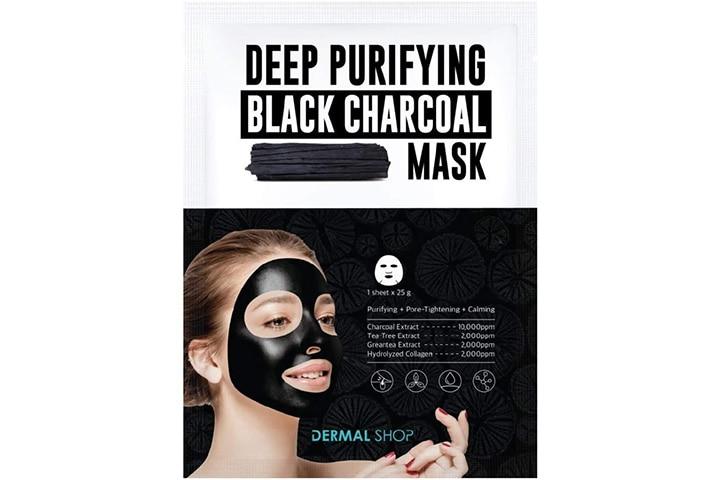 Dermal Korea charcoal mask