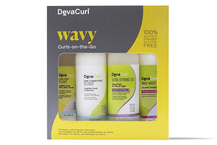 DevaCurl Curls-on-the-go Kit