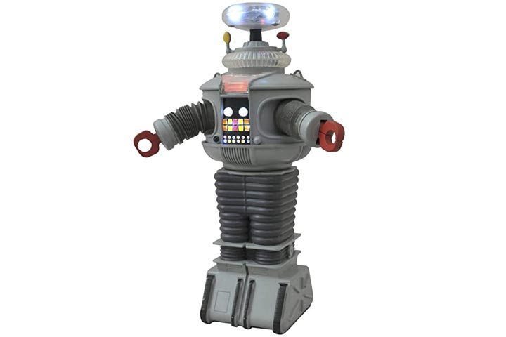 Diamond Select Toys Lost In Space Electronic B9 Robot