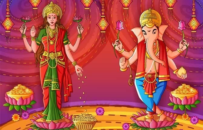 Diwali Par Laxmi Ganesh Ki Puja Kyon Karte Hain-1