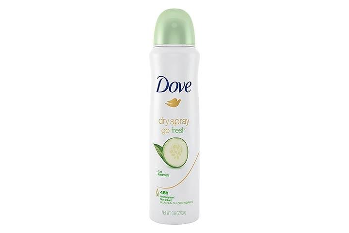 Dove Cool Essentials Dry Spray Antiperspirant