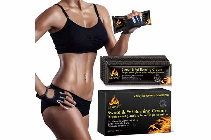 ELAIMEI Portable Workout Enhancer Sweat Cream