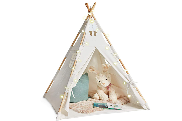 EQOYA Teepee Tent For Kids