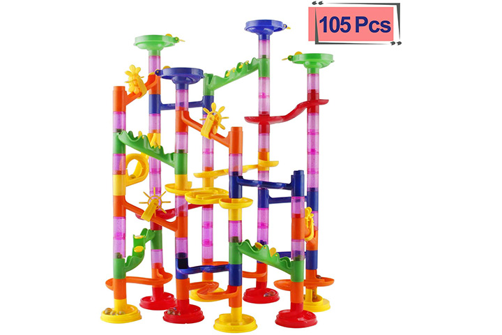 Elongdi Marble Run Race Coaster