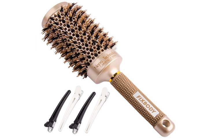 Fixbody Round Barrel Hairbrush
