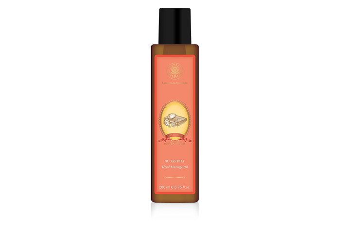 Forest Essential Daspushpadi Baby Head Massage Oil
