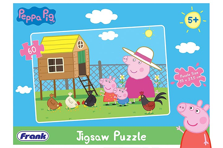 Frank Peppa Pig Puzzle