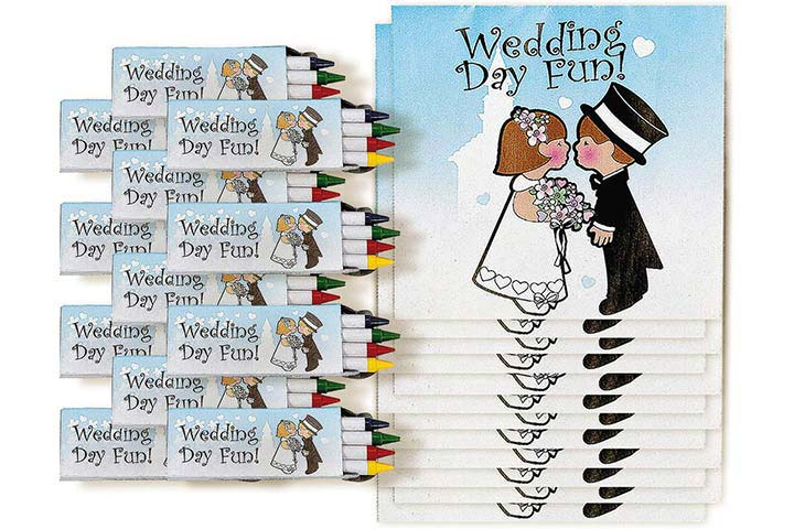 Fun Express Children's Wedding Activity Sets