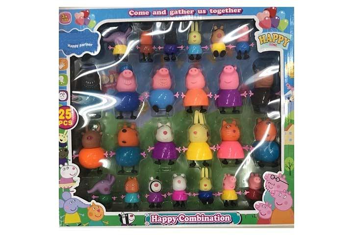 HS INTERNATIONAL Happy Family Peppa Pig Set