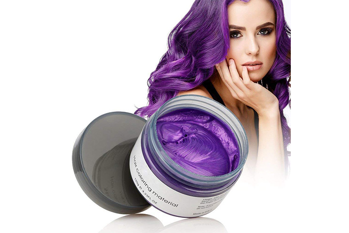 Hair Wax with Temporary Color