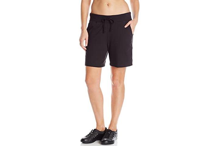 Hanes Womens Jersey Shorts