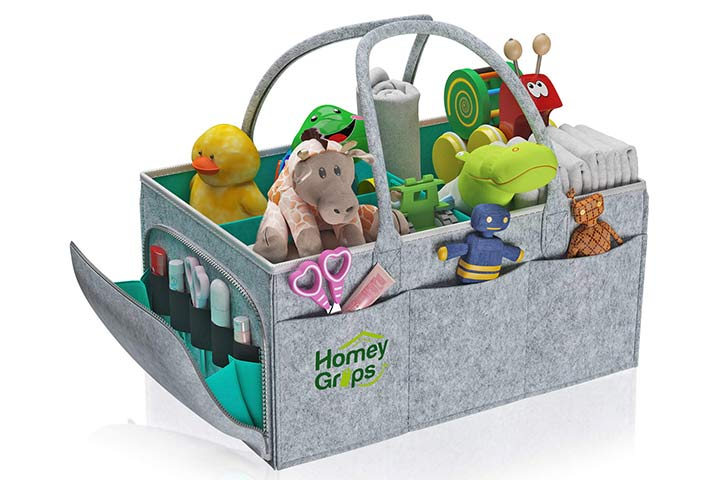 Homey Grips Baby Diaper Caddy