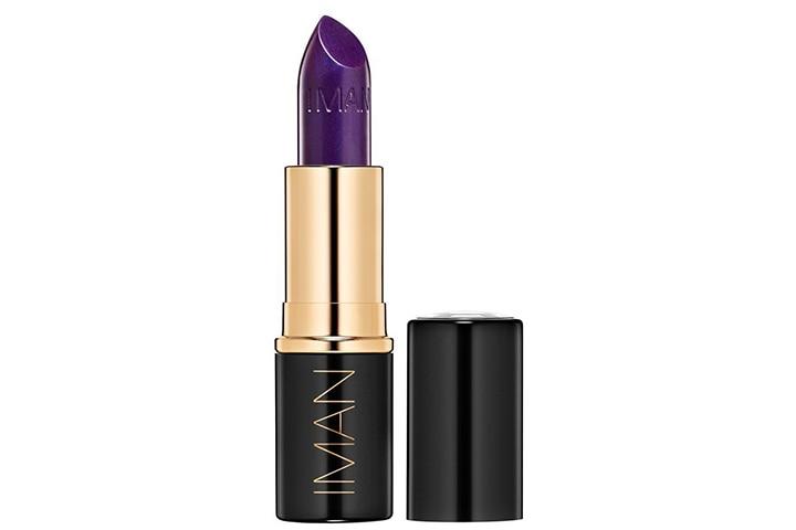 IMAN Cosmetics Moisturizing Lipstick, Purple, Taboo