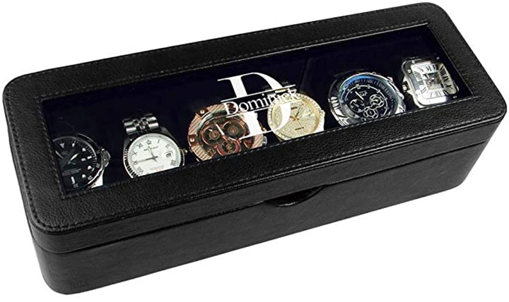 Ikee Design Personalized Watch Storage Box