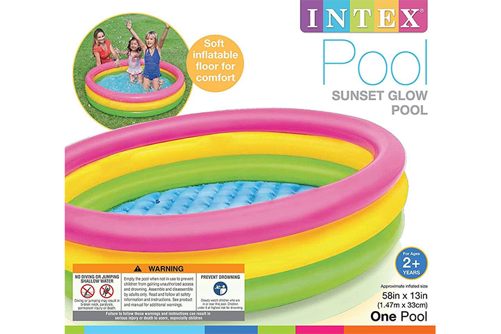 Intex Plastic Water Tub