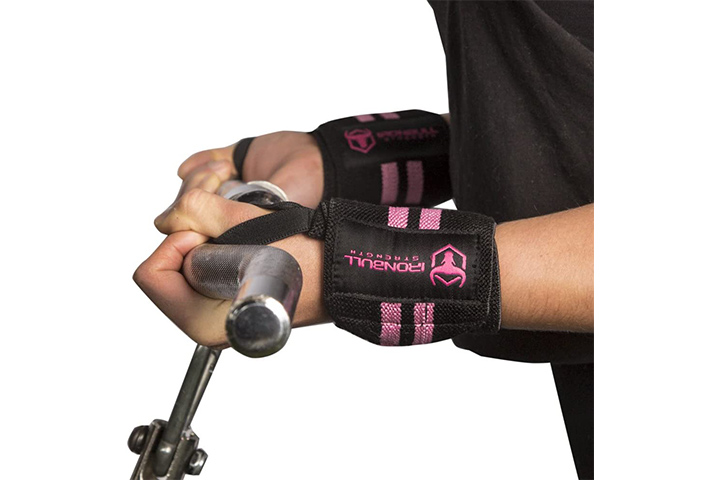 Iron Bull Strength Women Wrist Wraps With Thumb Loops - 14