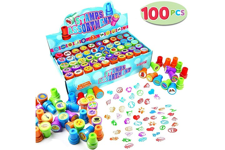 Joyin 100 Piece Stamps Assortment