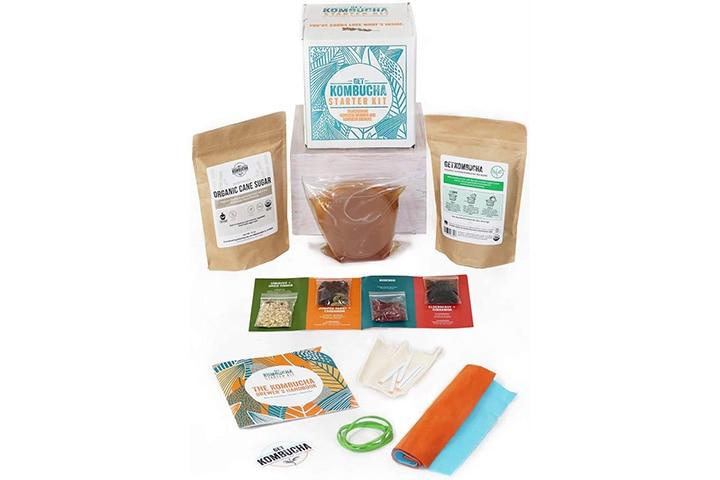Kombucha Starter Kit From Get Kombucha