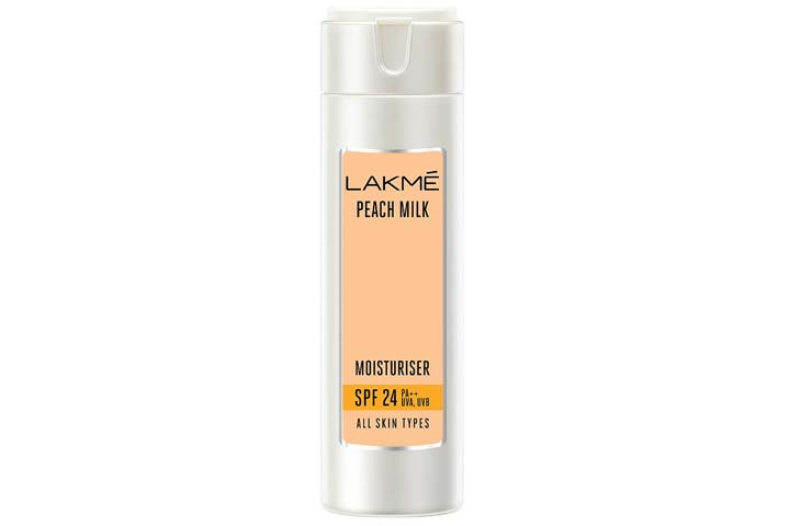 Lakme Peach Milk SPF 24 PA Sunscreen Moisturiser