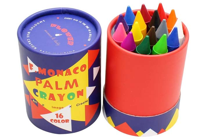 Lebze Jumbo Crayons For Toddlers