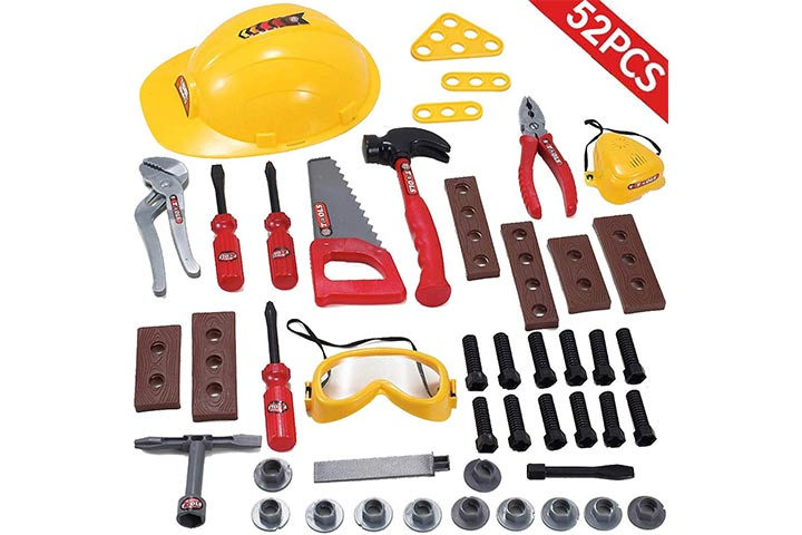 Liberty Imports Little Handyman Repair Toy Tool Set