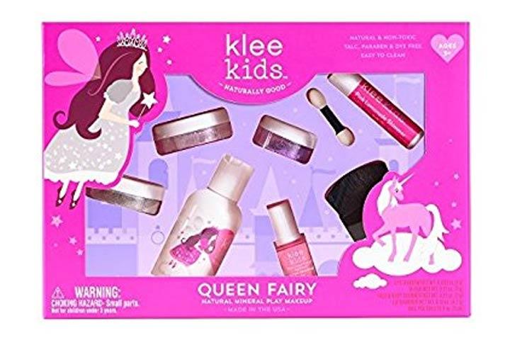 Luna Star Naturals Klee Kids Natural Mineral Makeup six Piece Kit, Queen Fairy