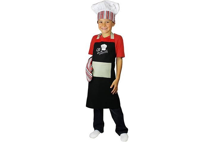 MU Kitchen Kids Apron Set