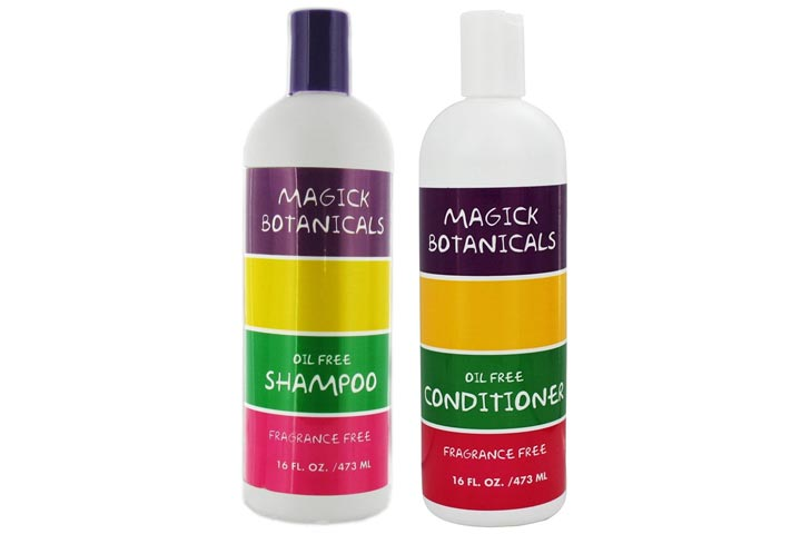 Magick Botanicals Oil Free and Fragrance-Free Shampoo Conditioner