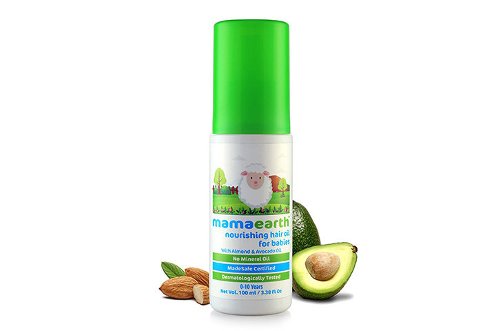 Mamaarth Nourishing Baby Hair Oil