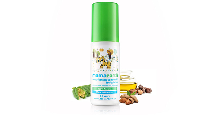 Mamaearth soothing massage