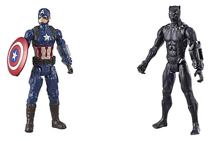 Marvel Avengers Endgame Titan Hero Series Captain America
