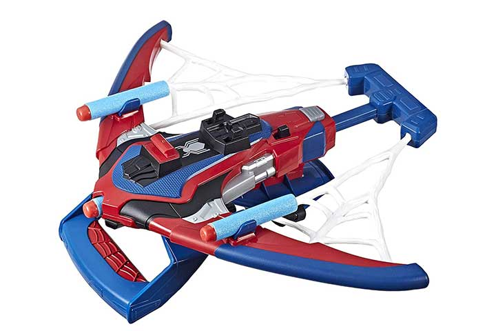 Marvel Spider-Man Spiderbolt Nerf Powered Blaster Toy