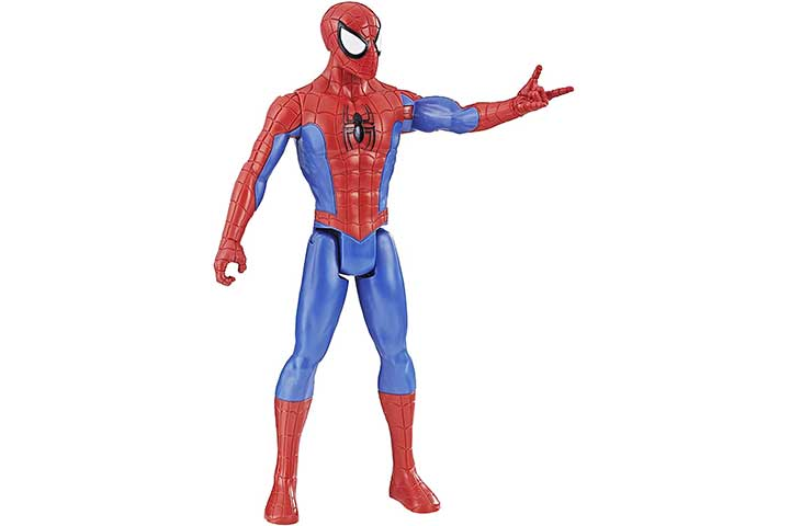 Marvel Spider-Man Titan Hero Series Spider-Man Figure with Titan Hero Power FX Arm Port