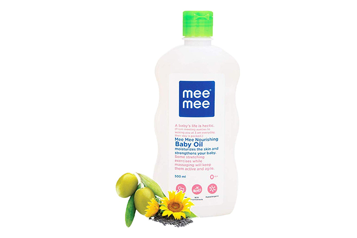 Mee Baby Oil with Fruit Extract