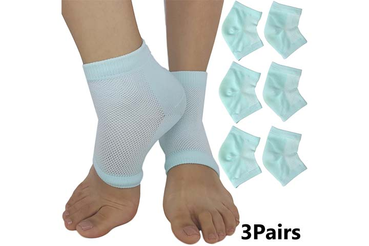 Moisturizing Socks for Cracked Heels - Aloe Socks to Treat Dry Feet Fast